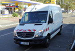 VGF Mercedes Benz Sprinter am 05.10.16 in Frankfurt Enkheim