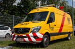 Mercedes Sprinter auf der IFBA 2016 in Kassel (03.06.2016)