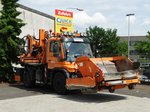 Mercedes Benz Unimog U300 am 08.06.16 in Frankfurt am Main