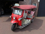 Tuk Tuk in Brielle, Niederlande (11.05.2016)