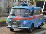 Ein Barkas B1000 im April 2017 in Dresden.