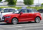 Audi A 1 in Euskirchen - 17.05.2018