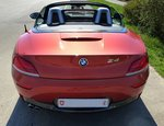 BMW Z4 Roadster, Heckansicht, April 2016