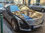 Cadillac CT6, gesehen in Budapest, Januar, 2020.