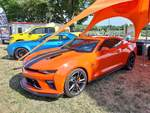 Chevrolet Camaro Coupé SS Hot Wheels Edition auf dem US-Car-Treffen in Stadtbredimus (Lux.) am 06.07.2019
