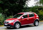 Dacia Sandero Stepway am 06.10.2012.