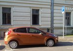 Ford Fiesta in Orange. Foto: 27.07.2016.