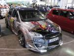 Ford Focus II  Custom Painting , gesehen auf dem Carstyling Tuning Show 2012.
