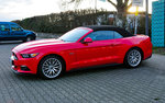 Ford Mustang Convertible, am 1.4.2016 in Aachen