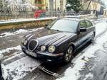 Jaguar S-Type, fotografiert am 24.03.2020.