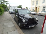 London Taxi (TLI TX 4) am 18.6.2016 in Plymouth, /