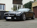 Mercedes Benz AMG GT am 27.04.16 in Bad Vilbel