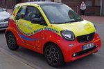Smart Fortwo am 19.03.16 in Rostock