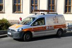 =VW Caddy der Firma  Kerbl  steht im September 2016 in Fulda
