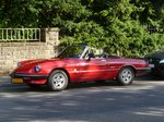 Alfa Romeo Spider stand am 10.07.2016 in Remich (Lux.)