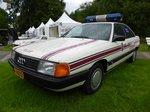 Audi 100 Quattro Police Grand-Ducale bei den Luxembourg Classic Days in Mondorf am 03.07.2016