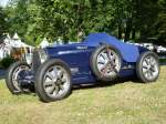 Bugatti Typ 51 Grand Prix bei den Luxembourg Classic Days in Mondorf am 29.08.2015