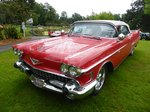 Cadillac Series 62 Convertible bei den Luxembourg Classic Days 2016 in Mondorf