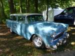 Chevrolet Bel Air Station Wagon bei den Luxembourg Classic Days in Mondorf am 30.08.2014