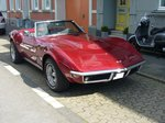 Chevrolet Corvette C3 Stingray Roadster des Modelljahres 1970.