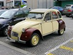 Citroen - 2CV in St.Gallen am 15.05.2016