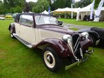 Citroen 11 CV Evocation Cabriolet bei den Luxembourg Classic Days 2016 in Mondorf