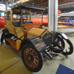 Eine Crossley Limousine aus dem Jahr 1909, so gesehen Anfang Mai 2019 im Museum of Science and Industry in Manchester.