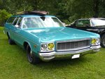 Dodge Polara Custom Wagon des Modeljahres 1973.