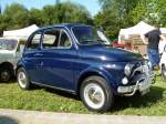FIAT 500 F-L bei den Luxembourg Classic Days in Mondorf am 29.08.2015