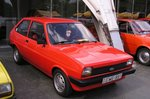 Roter Ford Fiesta I (1976-1983).