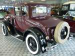 Heckansicht eines Ford Model A Coupe.