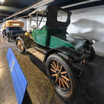 Ein 1912 gebauter Ford Model T, so gesehen Anfang Mai 2019 im Museum of Science and Industry in Manchester.