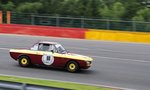 Mitzieher der Nr.60 Rainer Galaske, Lancia Fulvia Coupe, Youngtimer Festival Spa 24.7.2016, FHR Langstreckencup