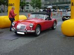 MG A Roadster.