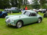 MG A Coupé bei den Luxembourg Classic Days 2016 in Mondorf