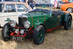 Ein 1932er Riley Gamecock Mitte Juli 2018 in Fairford.