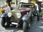 Rolly Royce Phantom I Sedanca de Ville.
