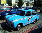 Trabant 601 in Kladno am 20.7.2018.