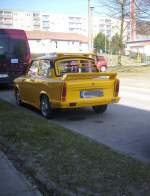 Trabant in Sassnitz am 21.02.2012