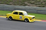 Simca Rally II, auf dem Formel 1-Kurs von Spa-Francorchamps, beim Youngtimer Festival Spa 22-24 July 2016