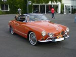 VW Typ 14 Karmann-Ghia Coupe.