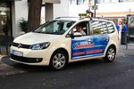 =VW Touran als Taxi in Fulda, September 2016