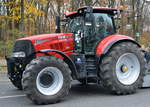 Ein CASE IH PUMA 220 CVX am 26.11.19 Berlin Charlottenburg.