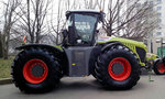 CLAAS Xerion 4000 in Gera. 31.03.2015