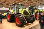Claas Axion 870 am 16.11.19 auf der Agritechnica in Hannover