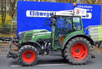Ein FENDT 211F VARIO TMS am 26.11.19 Berlin Charlottenburg.