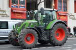 FENDT 724 VARIO Traktor am 26.11.19 Nähe Berlin Brandenburger Tor.