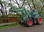 Fendt Vario 722 am 12.11.17 in Kleinostheim