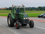 Fendt Traktor unterwegs in Hindelbank am 04.09.2016