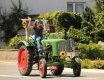 Fendt in Neuensee am 10.07.2011.